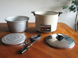 Hitachi Chime-O-Matic Model RD-6103 10-Cup Rice Cooker Food Steamer Tested - $45.00