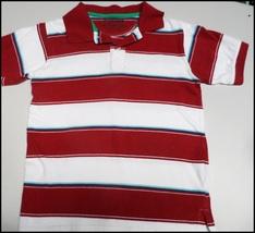 Arizona Maroon & White Striped Collared Shirt (Size Medium) - $4.50