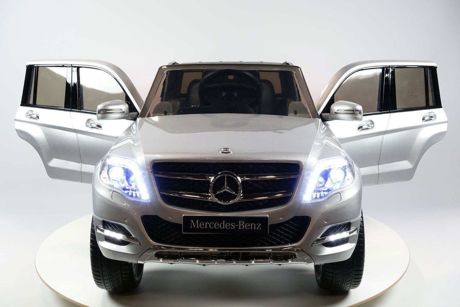 Mercedes benz glk300 4matic kids ride on battery powered for Rc mercedes benz
