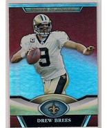 2011 Topps Platinum Red Drew Brees - $2.99