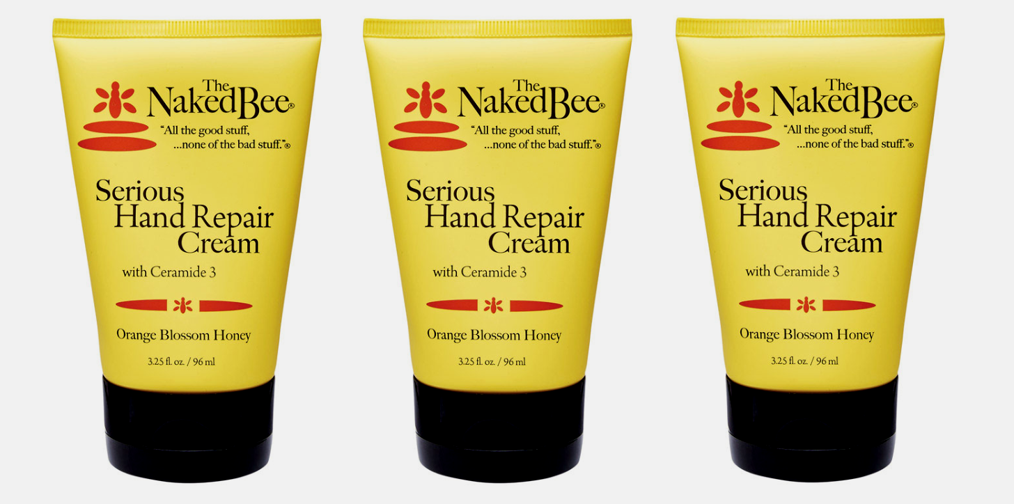 3~ The Naked Bee HAND REPAIR CREAM Orange Blossom Honey Made in USA 3.25 oz NEW!