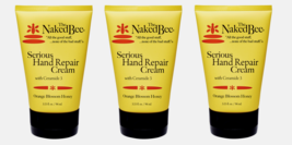 3~ The Naked Bee HAND REPAIR CREAM Orange Blossom Honey Made in USA 3.25... - $35.99