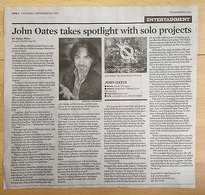 Primary image for John Oates solo album interview/clip- Allentown Morning Call September 2014