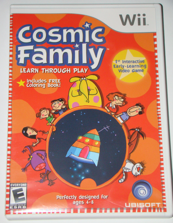 Primary image for Nintendo Wii - Cosmic Family Learn Through Play (Complete with Manual)