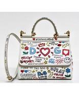 New Dolce & Gabbana Sicily Small Borsa Spalla Mural Print  Bag - $1,272.04
