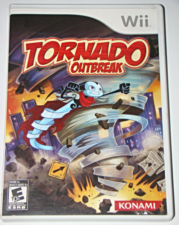 Primary image for Nintendo Wii - Konami - Tornado Outbreak (Complete with Manual)