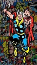The Mighty Thor Comic Book Cover Art Magnet #2 - $4.99