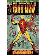 The Invincible Iron Man Comic Book Cover Art Magnet #1 - $4.99