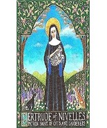 Saint Gertrude of Nivelles Patron of Cats Magnet #18 - $4.99