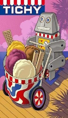 Primary image for Tichy Ice Cream Magnet #9