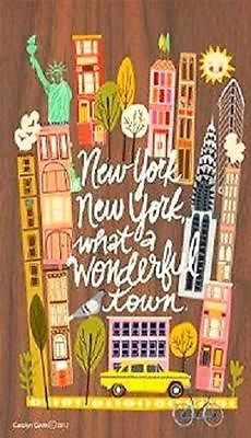 "Primary image for New York, New York, ""What A Wonderful Town"" Magnet"