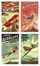 4 Military Aircraft - Model Airplane News Magnets (set 3) - $12.99