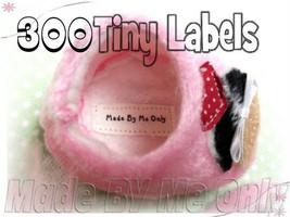 300 Labels 1.5x.5 Tiny White Clothing Iron on o... - $49.99