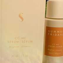 New In Box Summer Fridays CC Me Serum 1oz (30mL) Potent Vitamin C Brightening image 2