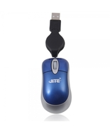 6082 MINI USB Retractable Cable Optical Mouse for PC Laptop - $15.99