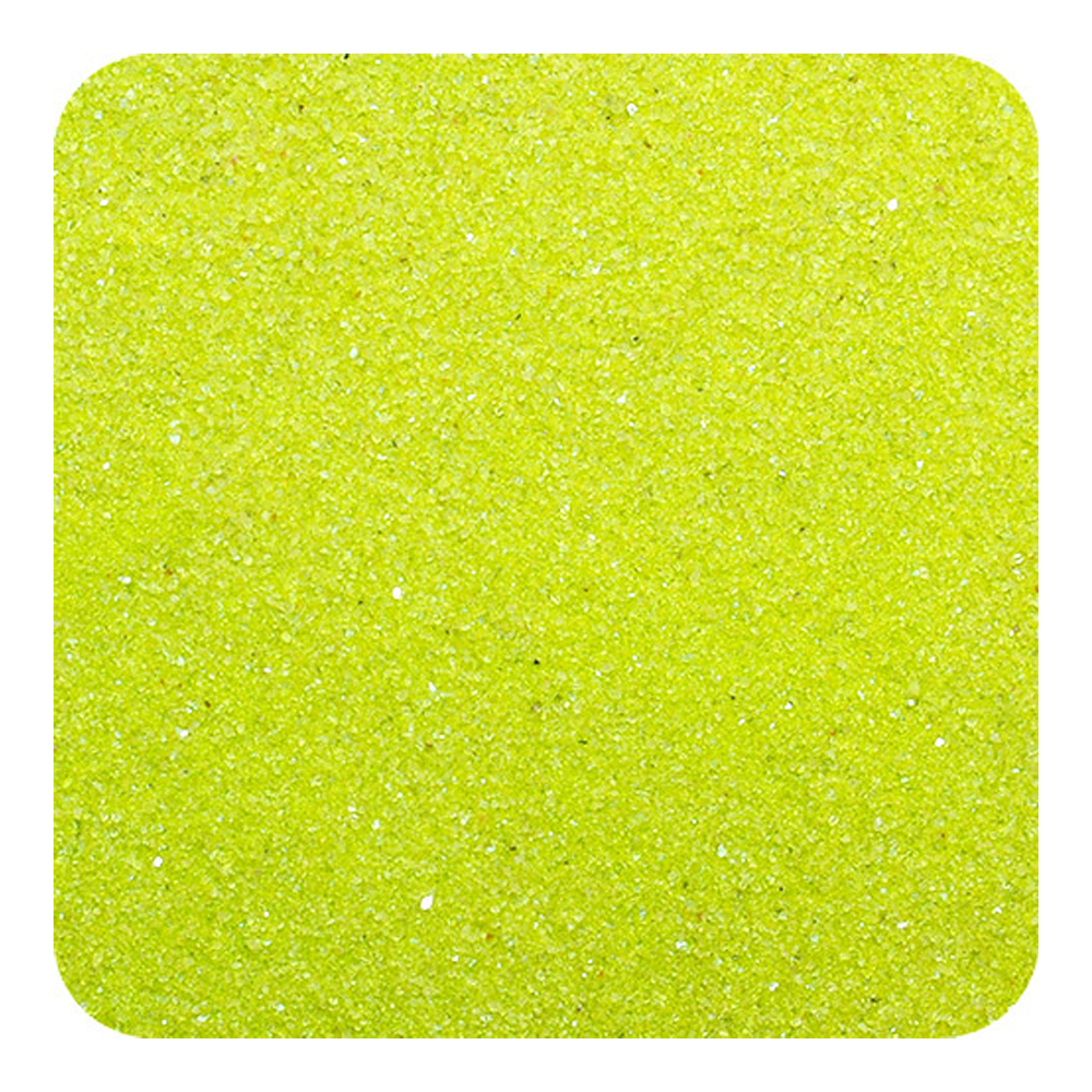 Primary image for Classic Colored Non-Toxic Play Sand 10 lb (4.5 kg) Box - Lime Yellow