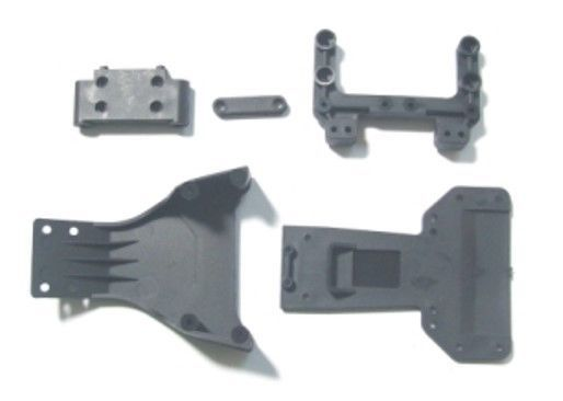 Primary image for F/R SKID PLATES REAR SHOCK TOWER MT F SUSPENSION MT REDCAT TWISTER KB-61002
