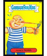 2014 Garbage Pail Kids Series 2 BLACK BORDER **NOSEY NORB** #88b - $0.99