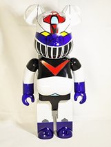 Medicom Toy Bearbrick Be@rbrick 400% Japan CLASSIC Amine Mazinger Z / Tranzor... - $206.99