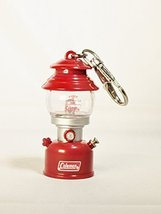TAKARA TOMY ARTS Coleman LANTERN MUSEUM 2 Model 200A 1961 Red & Silver LED - $12.89
