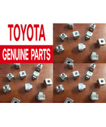 NEW! 2 GENUINE OEM LEXUS TOYOTA CAMRY AIR FILTER ELEMENT BOX COVER NUTS N2 - $15.00