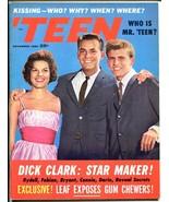 'Teen 12/1960-Petersen-Elvis-Dick Clark-Bobby Rydell-Anita Bryant-VF - $75.66
