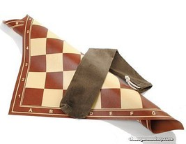 Chess Board leatherette with bag - $9.49