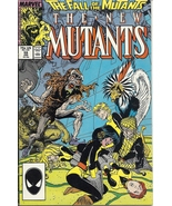 (CB-15} 1987 Marvel Comic Book: The New Mutants #59 { Fall of the Mutant... - $5.00