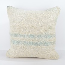 18x18 white pillow white kilim pillow white pillow case home wihite pill... - $19.00