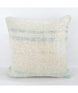 18x18 white pillow white kilim pillow white pillow case home wihite pill... - $55.00