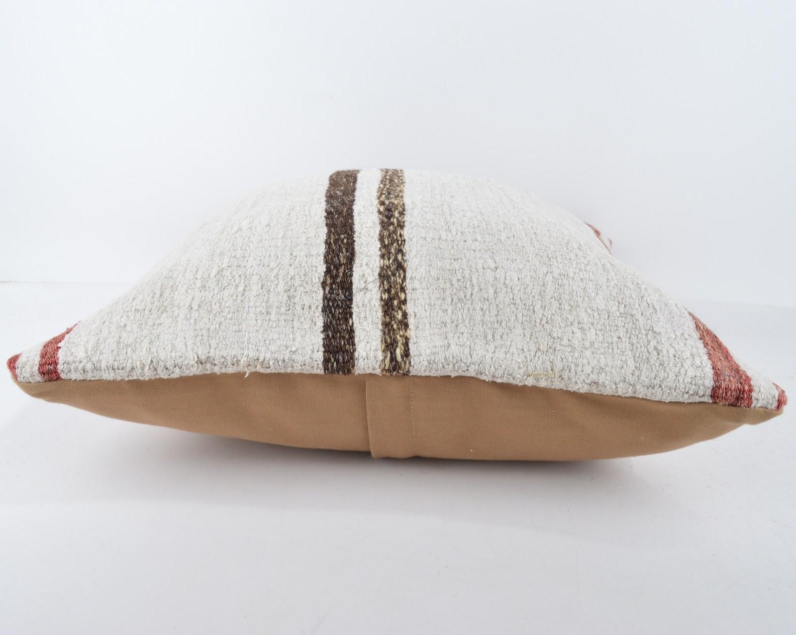 18x18 rug white pillow white kilim pillow white pillow case home wihite pillow
