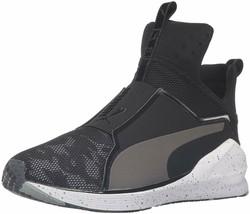 PUMA Women's Fierce Camo Cross-Trainer Shoe [Black/White], 8 M/ 5.5 UK/ ... - $101.99