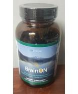 E3Live BrainOn 120 Vegetarian Capsules Supplement Increased Focus and Cl... - $40.38