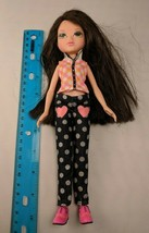 MGA Moxie Girls Doll 2009 Dark Brown Hair Hazel Eyes w/ Outfit, Shoes - $10.00