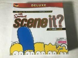 The Simpsons Scene It Deluxe W/ DVD & Metal Game Pieces 2009 Complete EX - $9.75