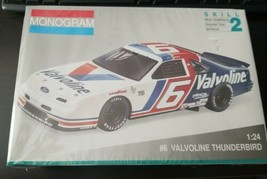 Monogram  #6 Valvoline Thunderbird Mark Martin 1:24 Scale NASCAR Model K... - $19.76