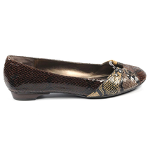 Nine West Womens Ballerina NWLIGHTNING BROWN MULTI - $75.06