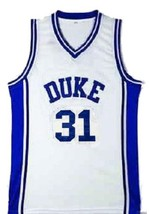 Shane Battier #31 College Basketball Custom Jersey Sewn White  Any Size image 1