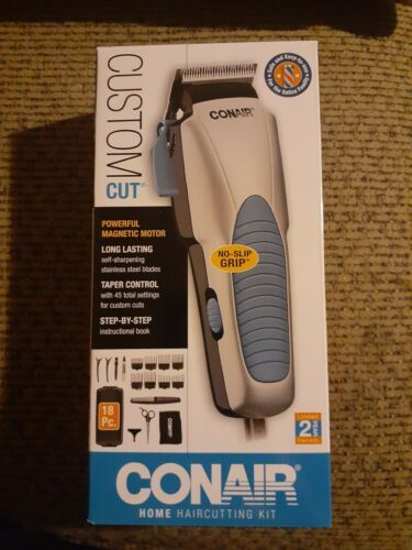 Primary image for Conair Custom Cut 18-piece Powerful Home Hair Cutting Kit with No Slip Grip NIB