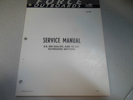 1986 Force Outboards Service Manual 9.9 250 Sailor 15 HP OEM OB 3669 - $24.70