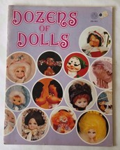 Dozens of Dolls 1972 Craft Book Patterns and Instructions 39 Pages - $15.35