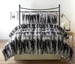 Silhuett 3pc Reversible Down Alternative Comforter Set camouflage, black,white - $42.74 - $54.14