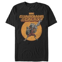 Marvel Guardians of the Galaxy Cartoon Rocket Mens Graphic T Shirt - $10.99