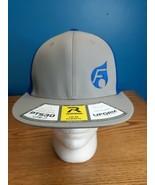 Richardson PTS30 Lite Grey/Blue UFORM Visor Flexfit Cap Hat Size L-XL NWOT - $14.80