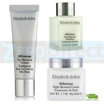 ⭐️⭐️⭐️⭐️⭐️ Elizabeth Arden Millenium, Day & Night Renewal + Eye Cream, 3... - $49.89