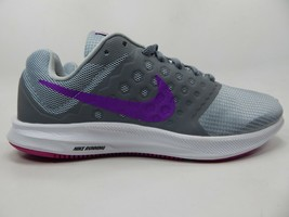 Nike Downshifter 7 Size 8 M (B) EU 39 Women's Running Shoes Gray 852466-011 - $42.02