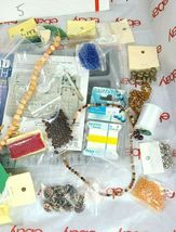 JEWELRY MAKING DIY BEAD BOARD, BEADS & BEADING MATERIAL See Photos (Bx5) image 3