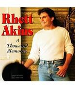 Thousand Memories by Rhett Akins Cd - $10.75