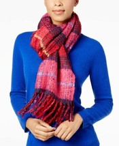 Echo Mulberry Plaid Scarf Blanket Wrap (Multi) - $30.14