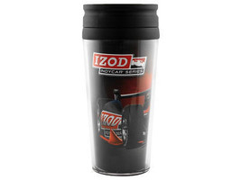 INDYCAR RACING TEAM - IZOD INDY RACING SERIES 16 oz TRAVEL MUG/TUMBLER - $12.19